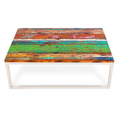 Samudera Reclaimed Wood Coffee Table by EcoChic Lifestyles