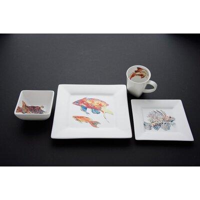 Something Fishy Dinnerware Set by Kim Rody Creations