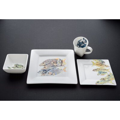 Snapper Dinnerware Set by Kim Rody Creations