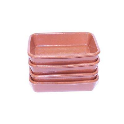 Small Terracotta Oven Tray by Regas Ceramics