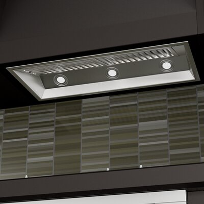 """34"""" 1200 CFM Range Hood Inserts in Stainless Steel Product Photo"""