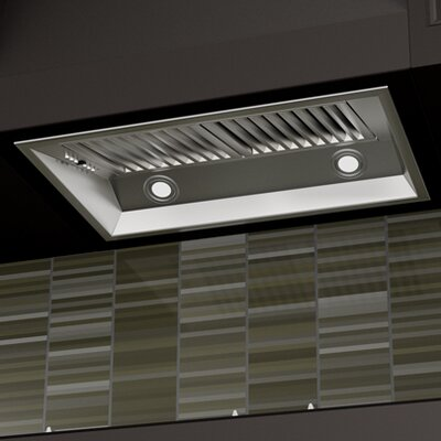 "28"" 900 CFM Range Hood Inserts in Stainless Steel Product Photo"