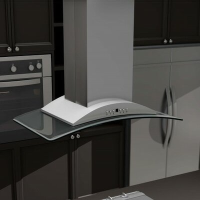 "36"" 760 CFM Island Range Hood Product Photo"