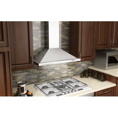 "36"" 760 CFM Wall Mount Range Hood Product Photo"