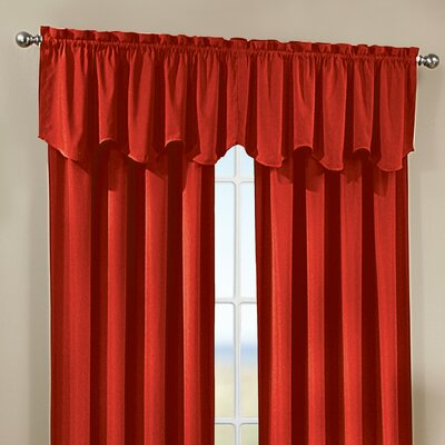 Peach Skin Saw Curtain Valance Product Photo