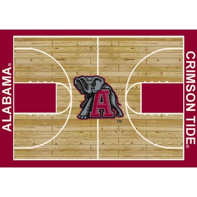 Milliken College Court NCAA Alabama Novelty Rug