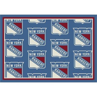 NHL New York Rangers 533322 2002 2xx Novelty Rug by Milliken