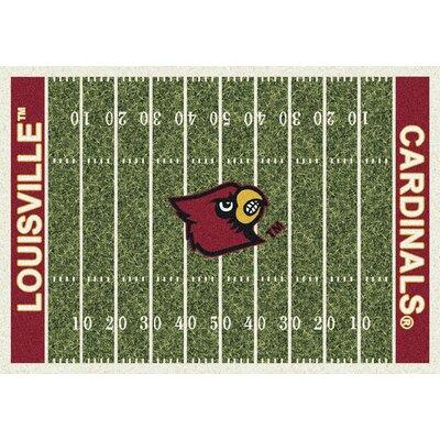 Milliken NCAA Home Field Louisville Novelty Rug