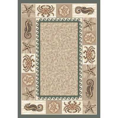 Milliken Signature Sea Life Light Aqua Area Rug