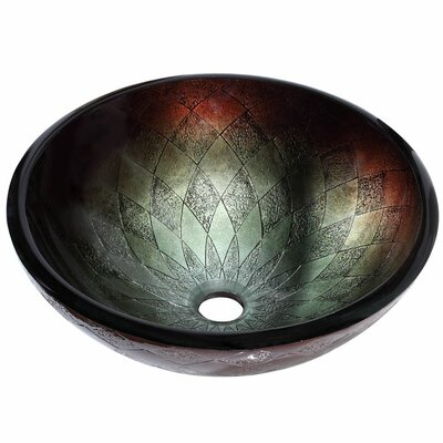 Handcrafted Tempered Vessel Sink Product Photo