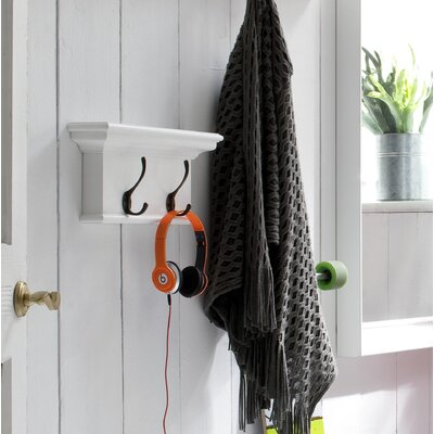 Halifax 2 Hook Coat Rack by NovaSolo