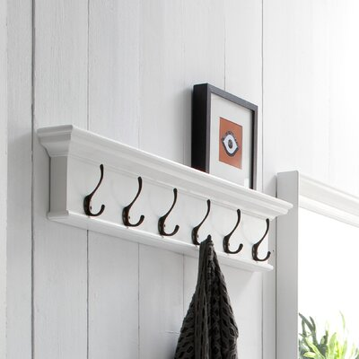 Halifax 6 Hook Coat Rack by NovaSolo