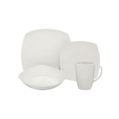 Square 16 Piece Place Setting by Melange