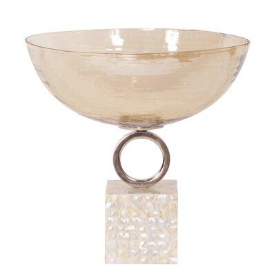 Glass Decorative Bowl by Howard Elliott