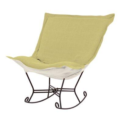 Puff Scroll Rocking Chair by Howard Elliott