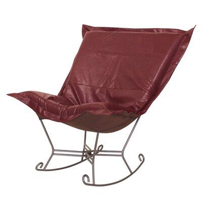 Puff Scroll Avanti Rocking Chair by Howard Elliott