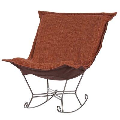 Puff Scroll Coco Rocking Chair by Howard Elliott