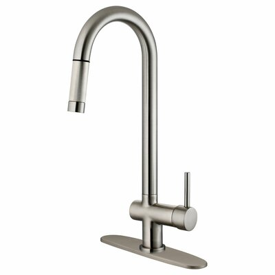 Single Handle Pull-Down Kitchen Faucet Product Photo