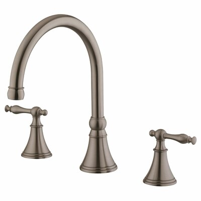 Double Handle Bathroom Faucet Product Photo