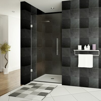 """Ultra-E 72"""" x 24"""" Hinged Glass Shower Door Product Photo"""
