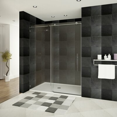 "Ultra-C 76"" x 60""  Sliding High Glass Shower Door Product Photo"