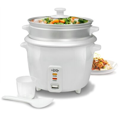 16-Cup Rice Cooker with Steam Tray by Cuizen