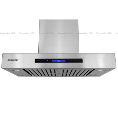 "Pro-X 30"" 900 CFM Wall Mount Range Hood in Brushed Product Photo"