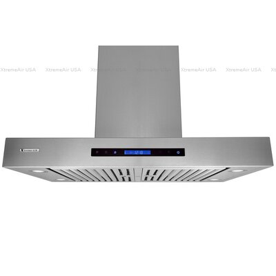 "Pro-X 36"" 900 CFM Island Range Hood in Stainless Steel Product Photo"