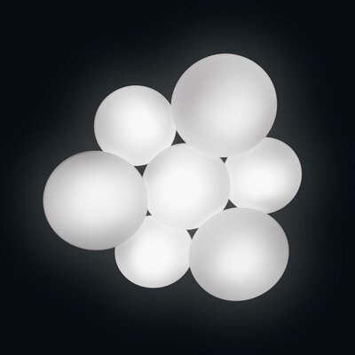 Puck 11 Light Flush Mount by Vibia