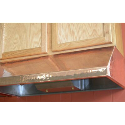 Vegas 48' 600 CFM Under Cabinet Range Hood in Copper Product Photo