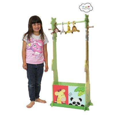 Fantasy Fields Sunny Safari Dress Up Valet Rack with 4 Hangers