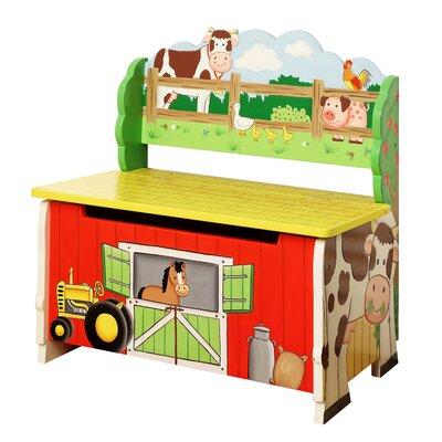 Happy Farm Storage Bench by Fantasy Fields