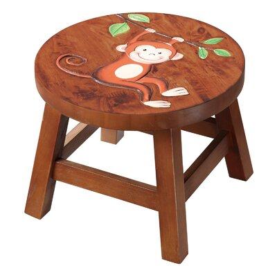- Safari Monkey Wooden Stool by Fantasy Fields