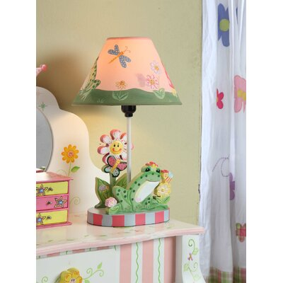 """Fantasy Fields Magic Garden 16.3"""" H Table Lamp with Empire Shade"""