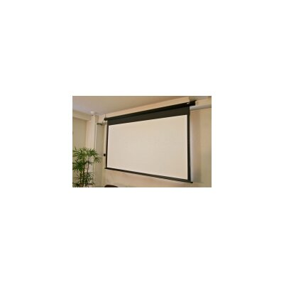 Elite screens spectrum series motorized matte white for Motorized projector screen reviews