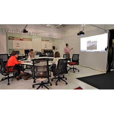 Elite Screens Insta-DE Series, 95-inch 16:10, Wall Covering Dry Erase Marker WhiteBoard Projection Screen