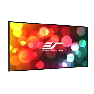Elite Screens Insta-DE Series, 63-inch 4:3, Wall Covering Dry Erase Marker WhiteBoard Projection Screen