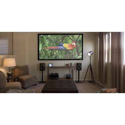 Elite Screens ezFrame Whire Fixed Frame Projection Screen