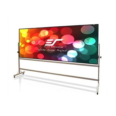 Elite Screens WhiteBoardScreen Universal Series Wall Mounted Whiteboard, 3' x 4'