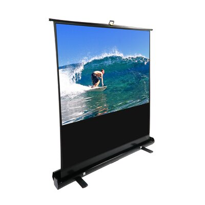Elite Screens ezCinema Plus Series Portable Floor Pull Up Projection Screen