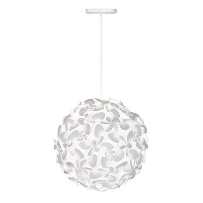 Vita Lighting Inc Lora 1 Light Globe Pendant Pendant 0206