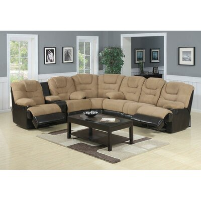 Aurora Reclining Sectional by Flair