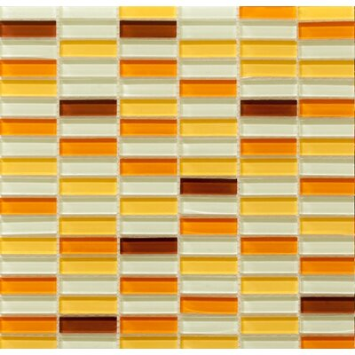 Aria Glass Mosaic Tile in Caribbean Treasure by Martini Mosaic