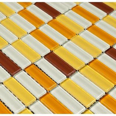 Aria Glass Mosaic Tile In Caribbean Treasure Wayfair