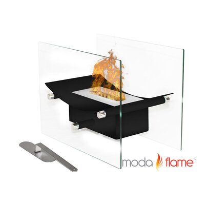 Cavo Tabletop Ventless Bio Ethanol Fireplace by Moda Flame