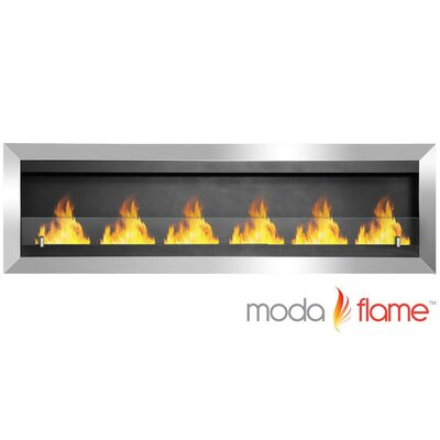 Verrazano Wall Mounted Ethanol Fireplace by Moda Flame