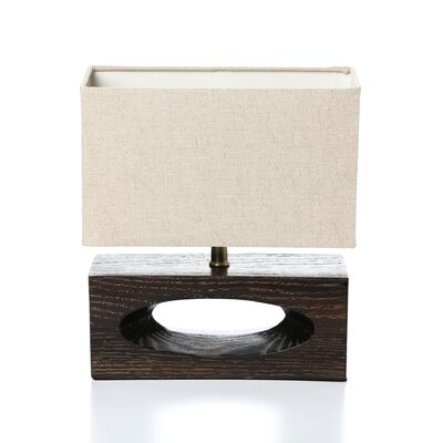 "Lite Source Pierre 13.5"" H Table Lamp with Rectangular Shade"