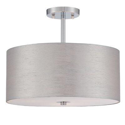 Silvain 3 Light Semi Flush Mount Product Photo