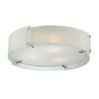 Kaelin 3 Light Flush Mount Product Photo