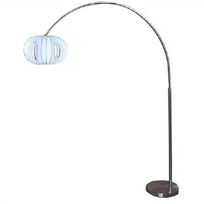 "Lite Source Arch 89"" H Table Lamp with Sphere Shade"
